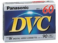 PANASONIC - DIGITAL VIDEO CASSETTE 60MIN - 5PC/BOX
