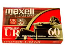 MAXELL AUDIO TAPE UR-60 - 10PC/BOX