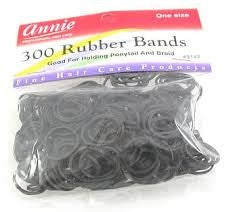 RUBBER BANDS - BLACK - 12CT/PACK