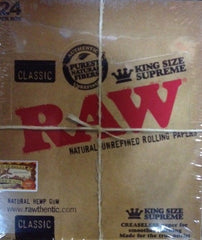 RAW Rolling Paper - King Size Supreme 24's
