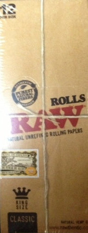 RAW Rolling Paper - Rolls 12ct