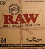 RAW Rolling Papers - King Size Slim + Tips 24ct