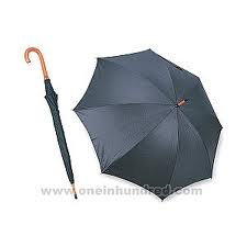 UMBRELLAS - JUMBO WITH WOODEN HANDLE - 12CT/UNIT