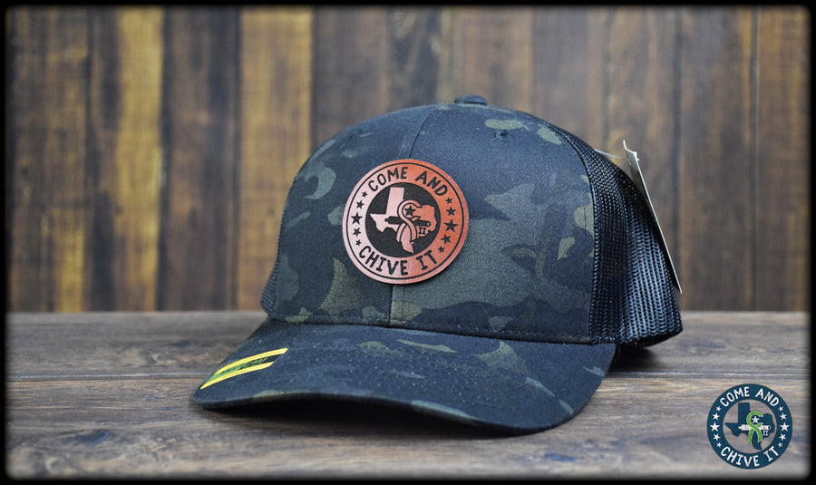 Come and Chive It Leather Cap - 112R