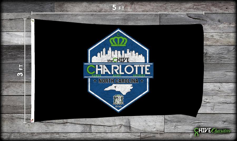 theChive Charlotte Flag