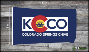 Colorado Springs Chive Flag