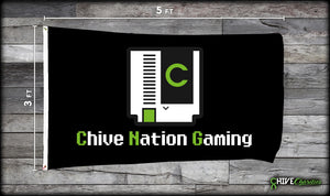 Chive Nation Gaming Flag
