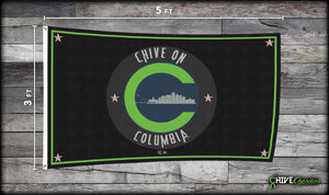 Chive On Columbia Flag