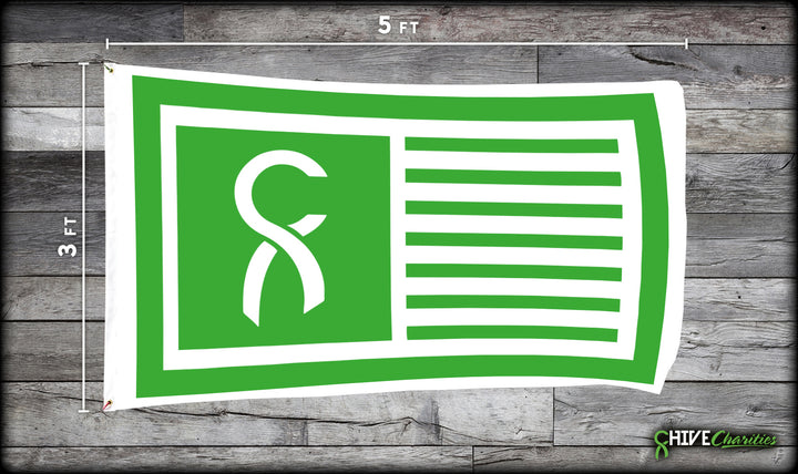 Chive Charities Ribbon Flag