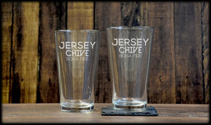 Jersey Bona Fide Pint Glass Set