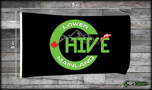 Lower Mainland Chive Flag