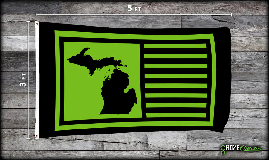 Michigan Chive Flag