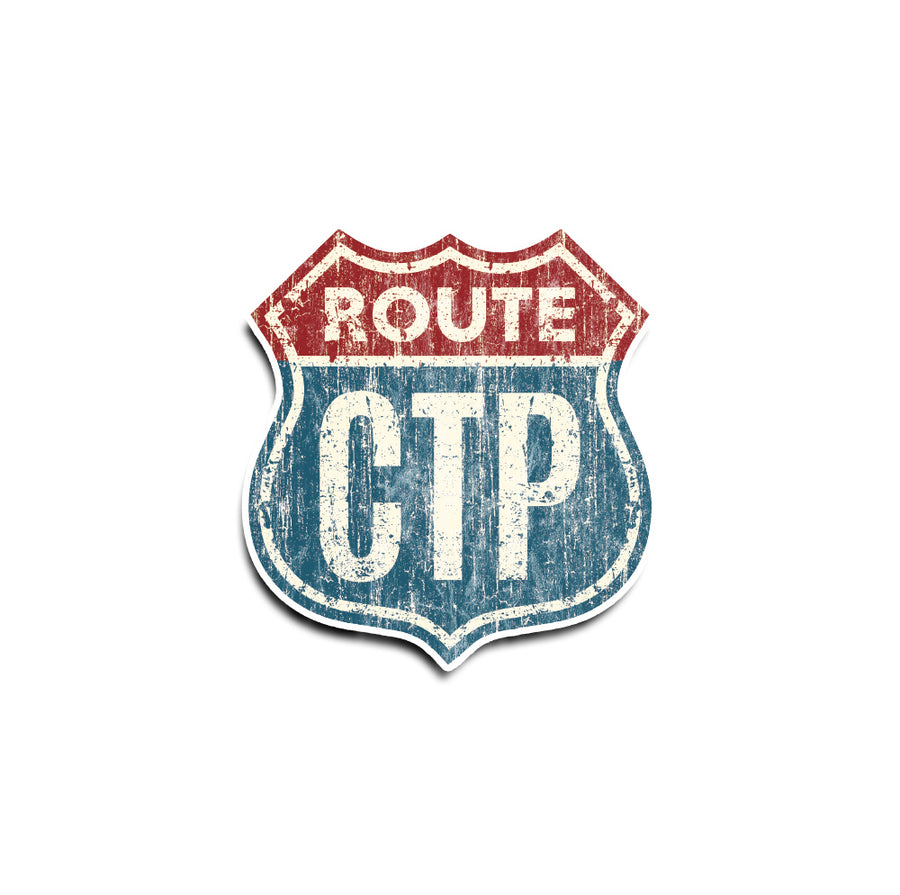 Route CTP Sticker
