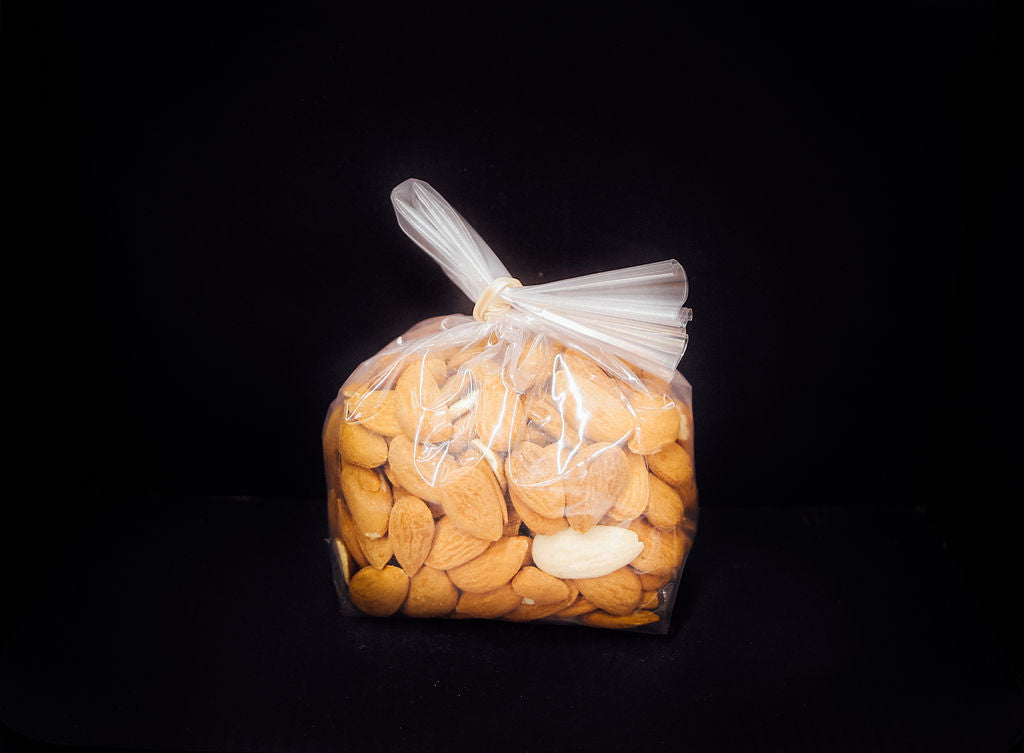 Almonds - Whole - Raw Shelled (Organic)