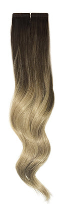 Balayage B116 halocouture tape in hair extensions