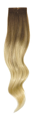 Balayage B613 halocouture tape in hair extensions