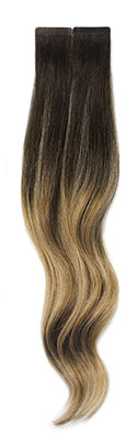 Balayage B622 halocouture tape in hair extensions