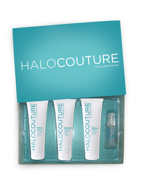 halocouture layered halo care products
