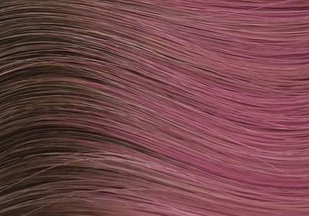 halocouture prism colored tape in hair extensions rooted