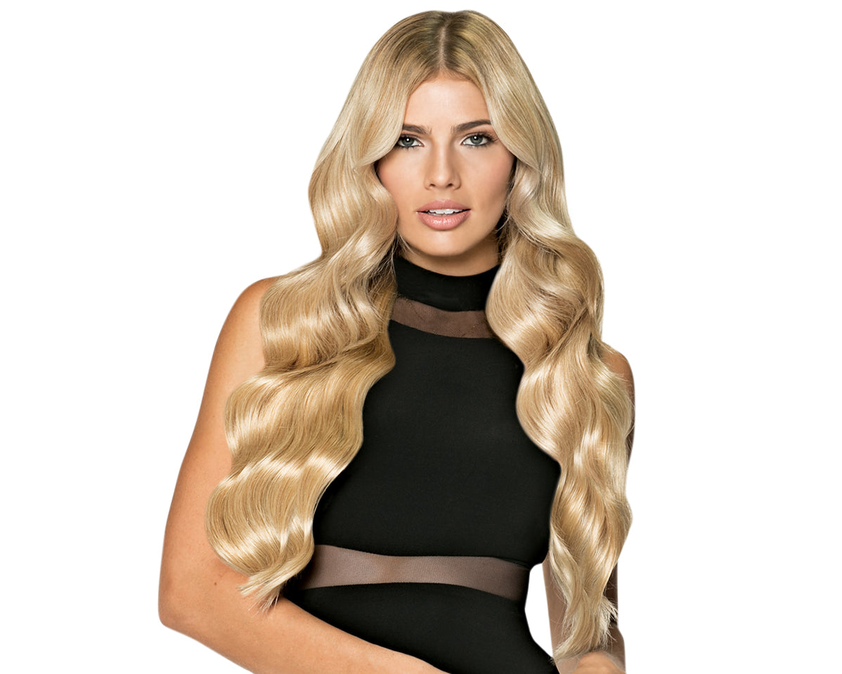 """24"""" layered halo halocouture hair extensions"""