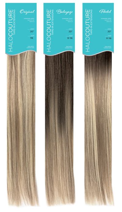halocouture tape-in hair extensions