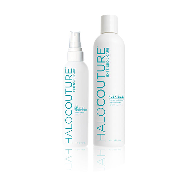 halocouture the fall hair extensions care products