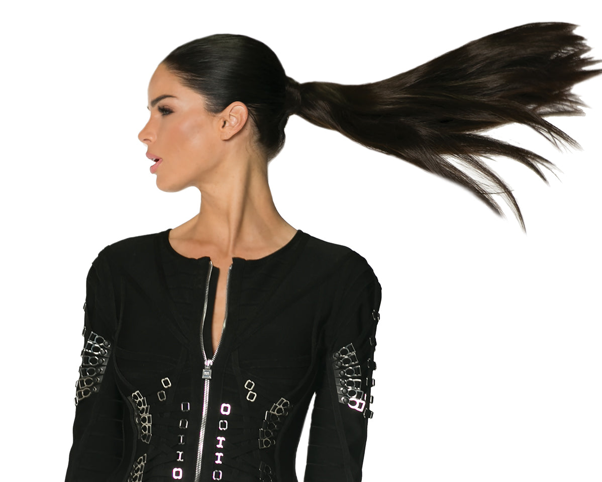 halocouture ponytail
