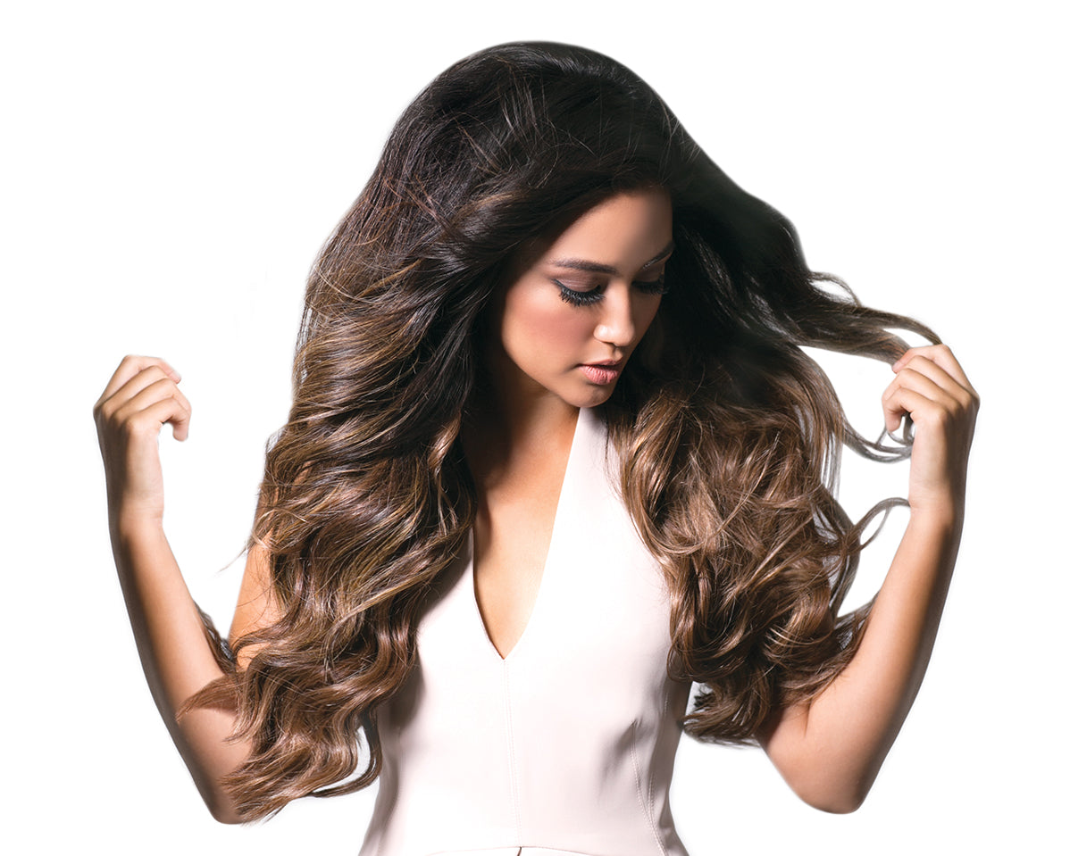 halocouture bayalage tape in hair extensions