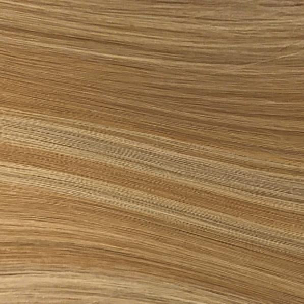 Machine Tied Weft - 112 | Warm Blonde with Highlights