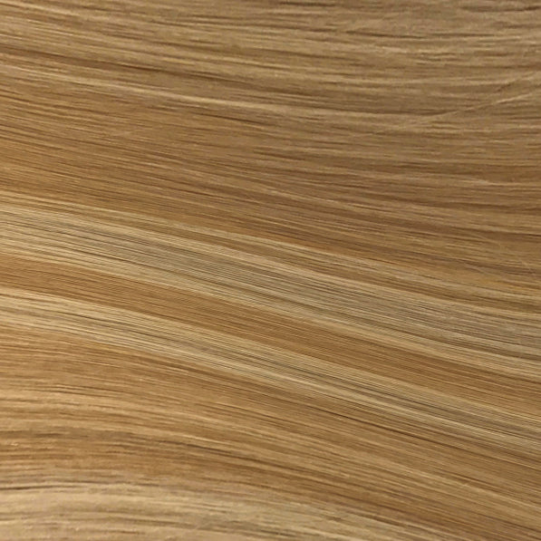 Hand Tied Weft - 112 | Warm Blonde with Highlights