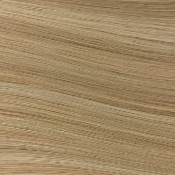Hand Tied Weft - 14/24 | Light Warm Blonde with Highlights