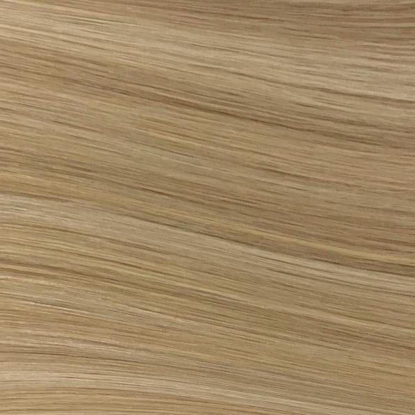 Machine Tied Weft - 14/24 | Light Warm Blonde with Highlights