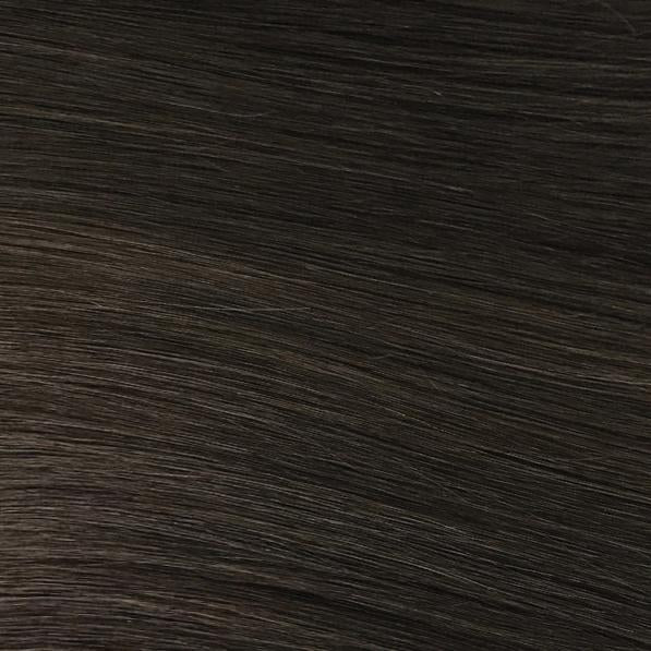 Machine Tied Weft - 2 | Dark Brown