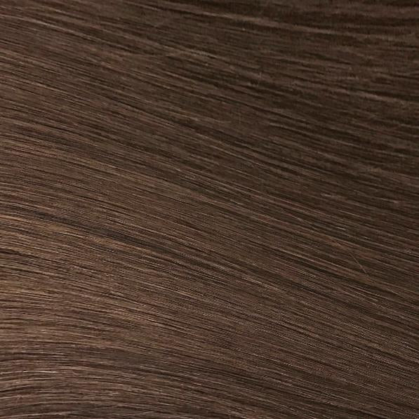 Machine Tied Weft - 4 | Medium Auburn Brown