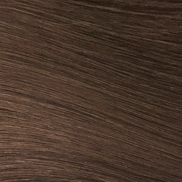 Hand Tied Weft - 4 | Medium Auburn Brown
