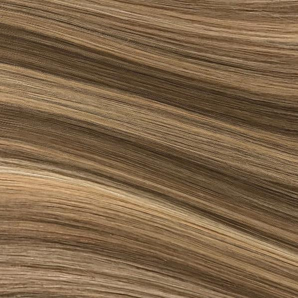 Machine Tied Weft - 622 | Warm Blonde with High & Low Lights