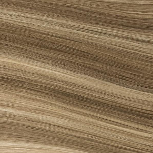 Machine Tied Weft - 882 | Ash Blonde with Cool Highlights