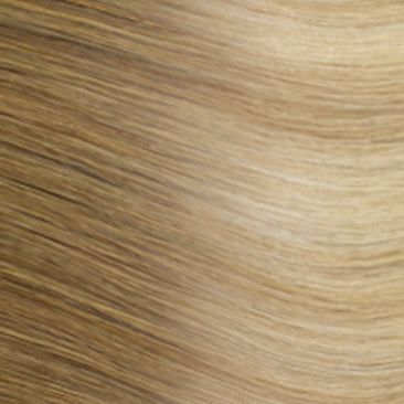 Halocouture® Tape-in Extension - Rooted R14/24 | Light Warm Blonde with Highlights Rooted with Level 6/7 Neutral