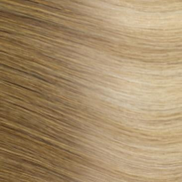 Machine Tied Weft - Rooted R14/24 | Light Warm Blonde with Highlights Rooted with Level 6/7 Neutral