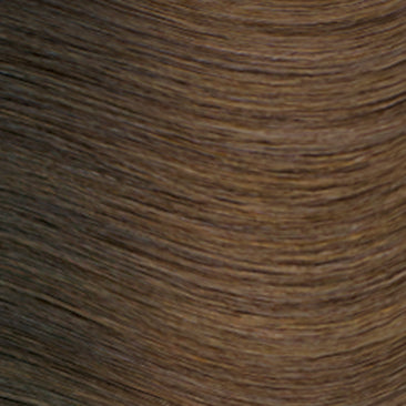Hand Tied Weft - Rooted R4 | Medium Auburn Brown Rooted with #2, Level 4/5 Neutral