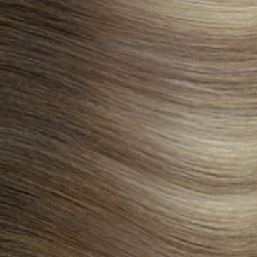 Machine Tied Weft - Rooted R882 | Ash Blonde with Cool Hightlights Rooted with #3, Level 5/6 Neutral