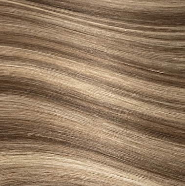 Hand Tied Weft - 612 | Medium Blonde with Auburn Lowlights