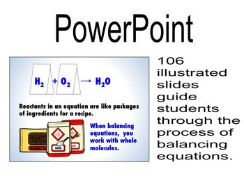 Teaching Chemistry with Powerpoint