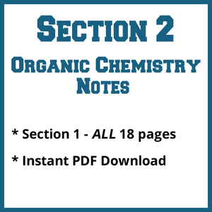 Section 2 Organic Chemistry Notes