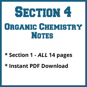 Section 4 Organic Chemistry Notes