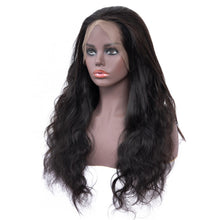 Load image into Gallery viewer, Brazilian Glueless 360 Body Wave Lace Frontal Wig  with Pre Plucked Baby Hair