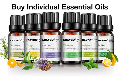 Buy Individual Essential Oils