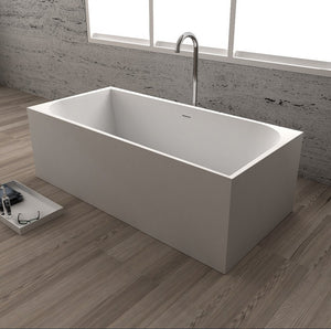 Andrea - Square Bathtub - Much More Decor
