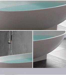 Florence - Solid Surface Freestanding Tub - Much More Decor