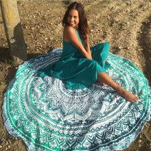 Circular Beach Yoga Mat - Much More Decor